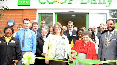 Last week's official opening of the East of England Co-op's new Co-op Daily store in Handford Road,