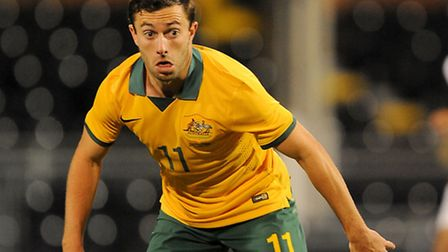 Tommy Oar is poised to sign for Ipswich Town