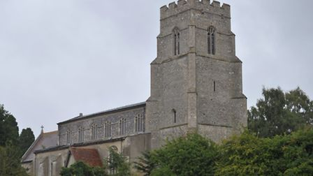 St Mary's Church in Combs.