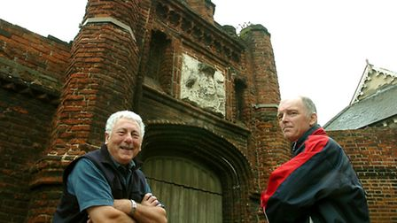 Wolsey's Gate is just one attraction as the region celebrates its heritage this weekend