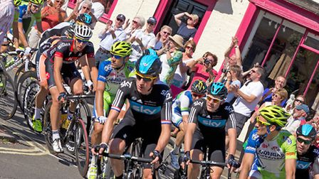 The Tour of Britain comes through Suffolk on Saturday