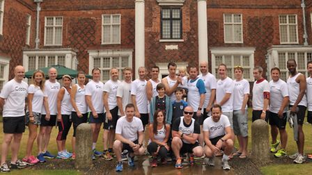 Runners are getting together to run the Ipswich half marathon in memory of Ruth Mehmed, who passed a