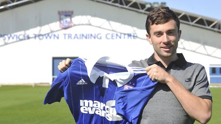 New Ipswich Town signing Tommy Oar. Photo: SU ANDERSON