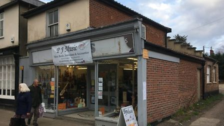 Plans have been approved to expand the listed building at 27 Mere Street in Diss. Picture: Simon Par
