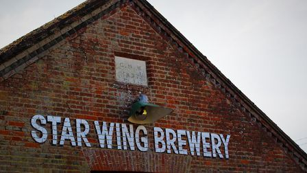Converted from an old redbrick sawmill, the Tap Room will be adjoining the brewery at Redgrave, near