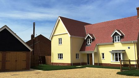 Peartree, Crowfield new home
