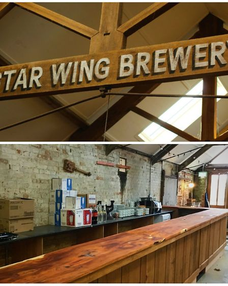 Star Wing Brewery, at Redgrave, near Diss, is set to open its very own on-site Tap Room. Pictures: S