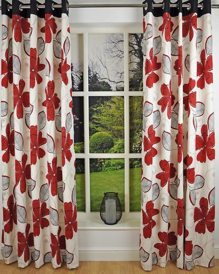 Curtains available from dovemill.co.uk