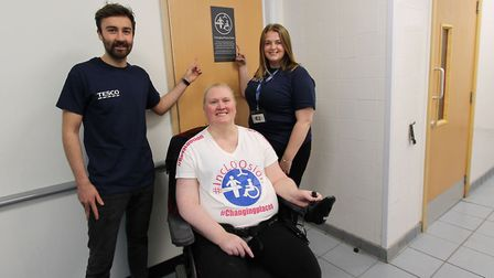 Specialist toilet facilities aimed at people with complex disabilities have been installed at Tesco