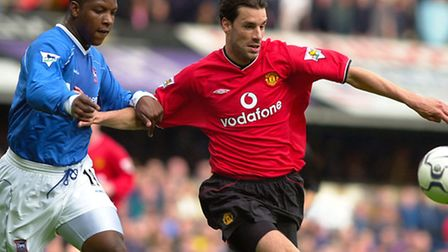 V is for...van Nistelrooy and villian.