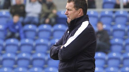 U's boss Tony Humes, who will take his side to Wealdstone for an FA Cup first round tie
