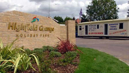 Highfield Grange holiday park in Clacton-on-Sea.