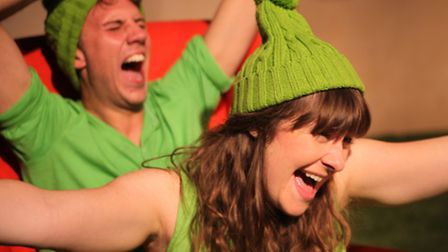 The Green Children of Woolpit by Laura Norman and Kirsty Thorpe, staged by Red Rose Chain