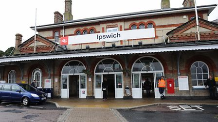 Services from Ipswich to London Liverpool Street are the poorest performing in the region