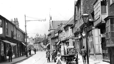 Upper Orwell Street, Ipswich, was a thriving shopping area until the 1930s when all the housing arou