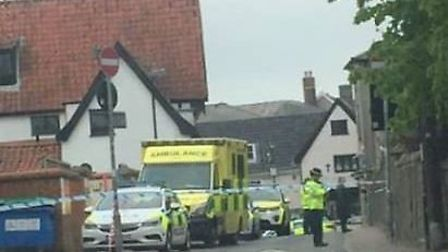 Police were called to an incident on Frenze Road in Diss. Picture: Felicity Priehs