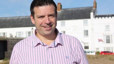 Peter Osborne, general manager at the Brudenell Hotel in Aldeburgh.