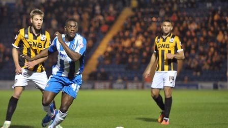 Marvin Sordell, in action against Port Vale on Tuesday night