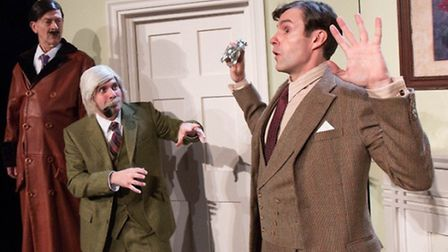 Jeeves and Wooster in Perfect Nonsense at the New Wolsey Theatre