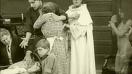 Images from Hypocrites, a controversial 1915 film which is set to be screened in Ipswich.
