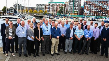 Delegates from the ABP Marine Conference at ABP, Old Custom House, Port of Ipswich.