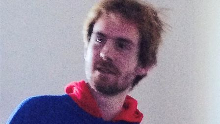 The image police have issued of Harry Grehan, who has gone missing from Chelmsford