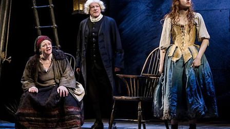 David Acton, Hannah Hutch and Patti Love in Jane Wenham- The Witch of Walkern, an Eastern Angles-O