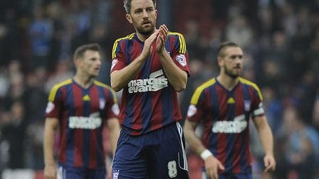 Cole Skuse at Ewood Park on Saturday