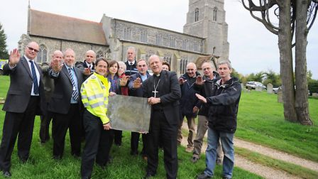 The church is launching its fight back against gangs targeting places of worship for lead. St Mary's