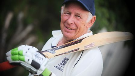 Graham Penny, 71, represents England over-70s against their Australian counterparts, Down Under, lat