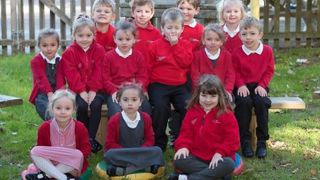 Banham Primary School First Class of 2018. The school has been oversubscribed for the 2019 intake. P
