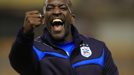 Huddersfield Town manager Chris Powell.