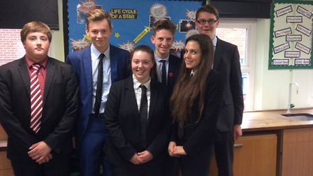Students at Manningtree High School