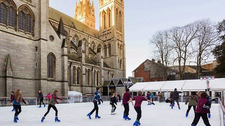 Similar ice rink in Winchester.