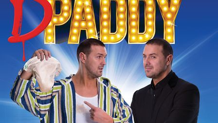 Paddy McGuinness brought his tour to the Ipswich Regent tonight