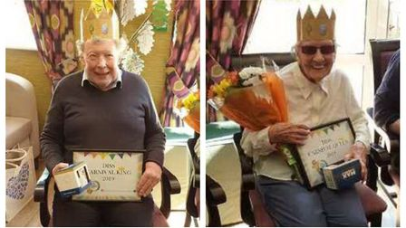 Diss Carnival King Gordon Campbell and Diss Carnival Queen Barbara Ward. Picture: Kimberly Jaynes