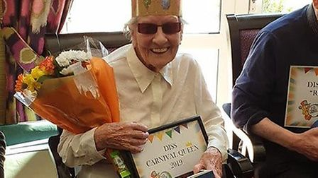 Barabra Ward is the queen of Diss Carnival. Picture: Kimberly Jaynes