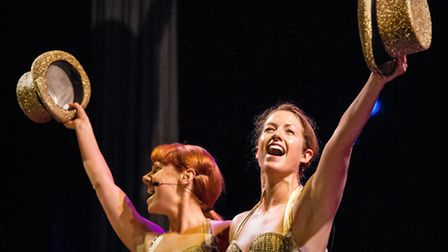 Sammy Kelly and Julia Cave bringing Bob Fosse�s Chicago to the Theatre Royal stage at the High Sheri