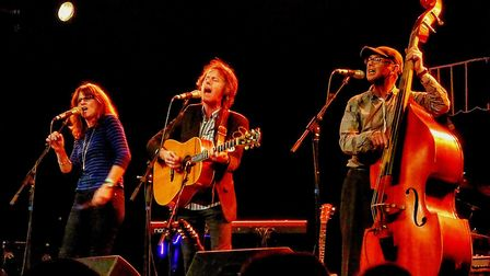 The John Ward Trio will be one of the headliners at the inaugural Burston with Folk. Picture: Bursto