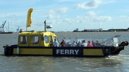 The Foot Ferry service between Shotley, Felixstowe and Harwich is extending its seaon due to high de