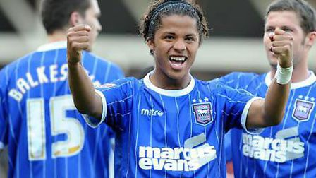 Giovanni Dos Santos was a hero at Portman Road during his loan spell at the club