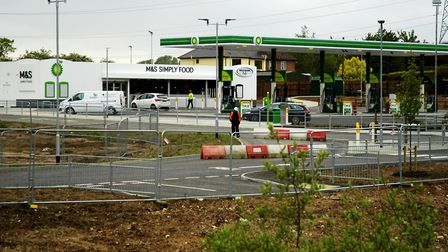 The new BP service station at the A140/A143 junction at Scole has opened to customers after six mont
