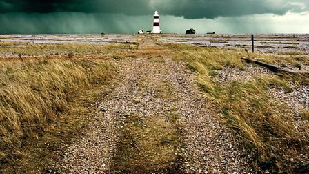 """An image of Orfordness from the Suffolk Coast Destination Marketing Organisation's """"Perfectly Season"""