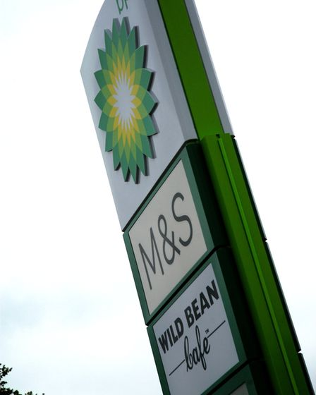 The new BP service station at the A140/A143 junction at Scole includes an M&S Simply Food and Wild B