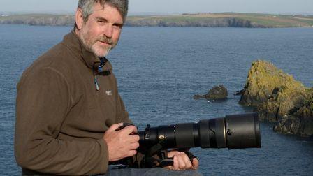 Award-winning wildlife filmmaker and photographer Nick Upton who will be giving a talk at the Bugs &