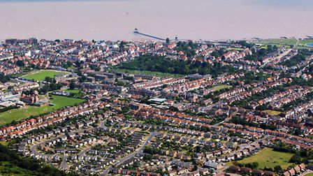 Dovercourt from the air