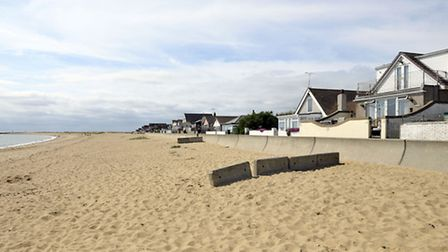 The beach at Jaywick, which has been classed as England's most deprived place. Photo: Nick Ansell/PA