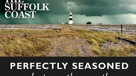 The poster Abellio is using to try to bring visitors to the Suffolk coast