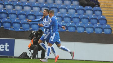 Macauley Bonne opened the scoring before Colchester lost at home to Coventry