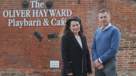 Oliver Hayward's dad Guy and his sister Tina Hayward are going to put on a special evening for peopl